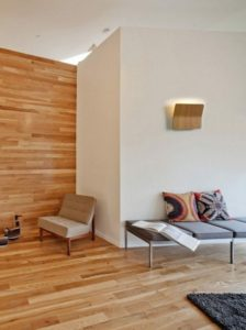 lamparas-pared-diseno-salon-pared-madera