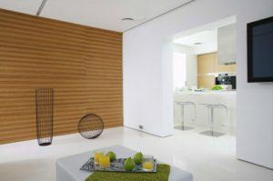 salon-moderno-cocina-paredes-blancas-madera
